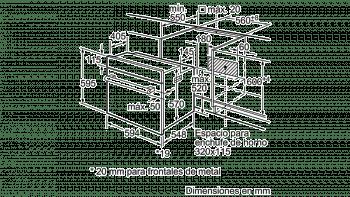Horno BALAY 3HB1000B0 de 60 cm | Serie Acero Blanco | Convencional Abatible | Stock - 6