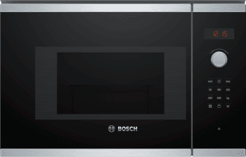 Microondas Bosch BEL523MS0 Integrable Inox 20 l 800 W Grill | Recetas Gourmet | Serie 4 | STOCK