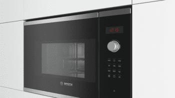 Microondas Bosch BEL523MS0 Integrable Inox 20 l 800 W Grill | Recetas Gourmet | Serie 4 | STOCK - 3