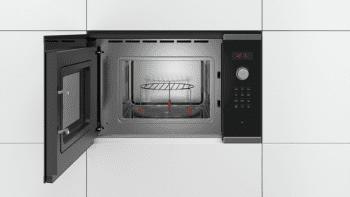 Microondas Bosch BEL523MS0 Integrable Inox 20 l 800 W Grill | Recetas Gourmet | Serie 4 | STOCK - 4