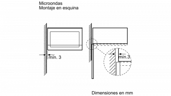 BOSCH BEL554MS0 MICROONDAS INOX CRISTAL NEGRO GRILL 25L | STOCK - 4
