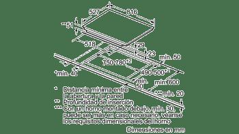 Bosch PXY875KW1E Inducción 80cm | 2 zonas dobles Flex de 23 x 40 cm | Promocionada - 5