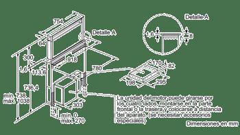 BOSCH DDD96AM60 EXTRACTOR DE ENCIMERA CRISTAL NEGRO INOX 90CM 690M3/H promocionado - 6
