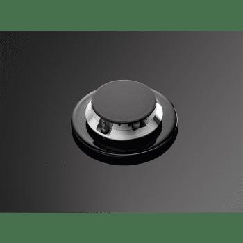 Placa de Gas AEG HKB75540NB Cristal Negro | 75 cm | 5 Quemadores | Conexión Placa-Campana Hob2Hood - 7