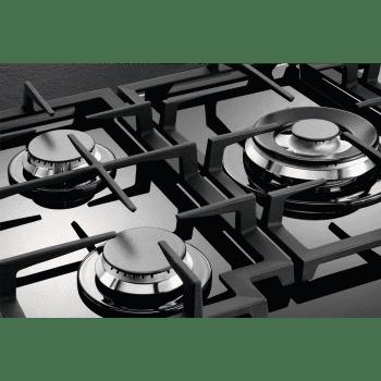 Placa de Gas AEG HKB75540NB Cristal Negro | 75 cm | 5 Quemadores | Conexión Placa-Campana Hob2Hood - 8