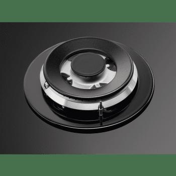 Placa de Gas AEG HKB75540NB Cristal Negro | 75 cm | 5 Quemadores | Conexión Placa-Campana Hob2Hood - 9