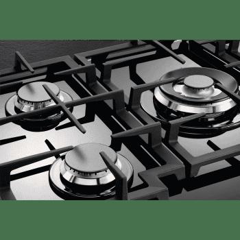 Placa de gas AEG HKB64540NB en Cristal Negro, de 60 cm con 4 Quemadores SpeedBurner, 1 Quemador Wok | Conexión Placa-Campana Hob2Hood - 7