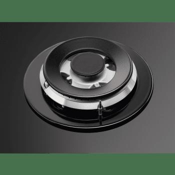 Placa de gas AEG HKB64540NB en Cristal Negro, de 60 cm con 4 Quemadores SpeedBurner, 1 Quemador Wok | Conexión Placa-Campana Hob2Hood - 8