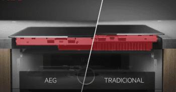 Placa de Inducción AEG IKE95471FB de 90 cm con 5 Zonas Flex Puente PowerBoost y Hob2Hood - 5