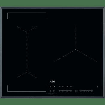 Placa de Inducción AEG IKE63441FB - 3 ZONAS MAXISENSE - █ 60cm ◉28cm
