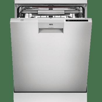 Lavavajillas AEG FFB83806PM 100% Inox A+++ con Tercera Bandeja | Bandeja Elevable ComfortLift | Inverter 42dB | Premium