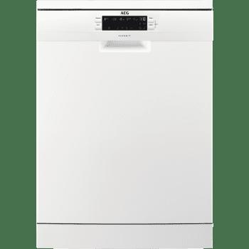 Lavavajillas AEG FFB52601ZM Blanco, de 60cm para 13 servicios, secado AirDry, ajuste automático consumo de agua y energía | Clase E - 1