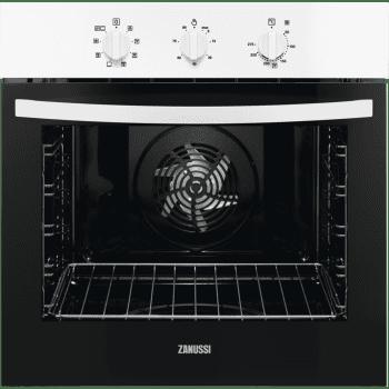 Horno Multifunción Blanco Zanussi ZOB22601WU de 60 cm | 72L | AquaClean | Clase A+