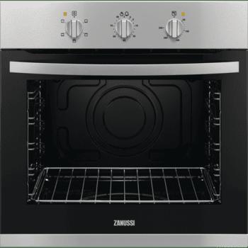 Horno Zanussi ZOB12401XU | Inox antihuellas de 59 cm | 78L AquaClean | Clase A