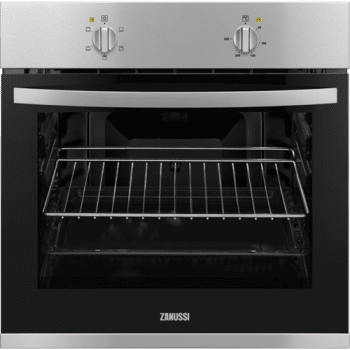 Horno Zanussi ZOB10411XU | Inox antihuellas de 59 cm | 56L | Clase A