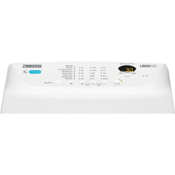 Lavadora de Carga Superior Zanussi ZWQ71235SI Libre Blanco de 7 kg a 1200 rpm Clase A+++ - 2