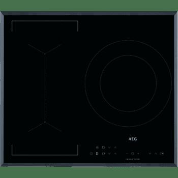 Placa de Inducción AEG IKB63341FB de 60 cm 3 Zonas Max 28 cm Hob2Hood