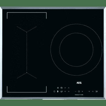 Placa de Inducción AEG IKB63341FB | 60 cm | 3 Zonas de cocción con PowerBoost | Conexión Placa-Campana Hob2Hood - 2