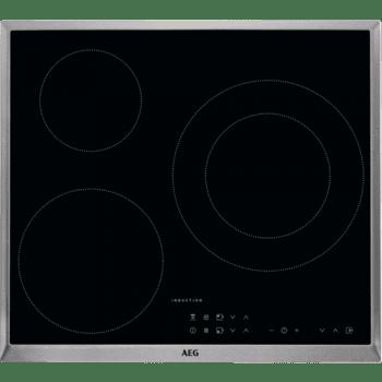 Placa de Inducción AEG IKB63301XB de 60 cm, 3 Zonas de cocción con PowerBoost | Conexión Placa-Campana Hob2Hood - 2