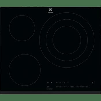 Placa de Inducción Electrolux LIT60346 de 60 cm 3 Zonas Max 32 cm Hob2Hood