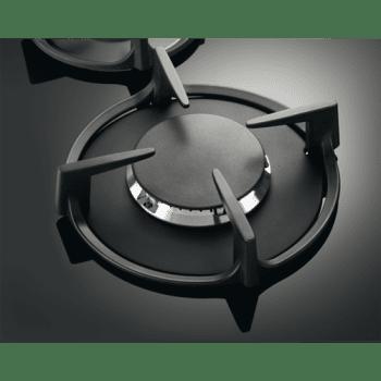 Placa de Gas Electrolux KGG6407K Cristal Negro | 60cm | 4 Quemadores SpeedBurner | 1 Quemador Wok | Encendido Automático - 3