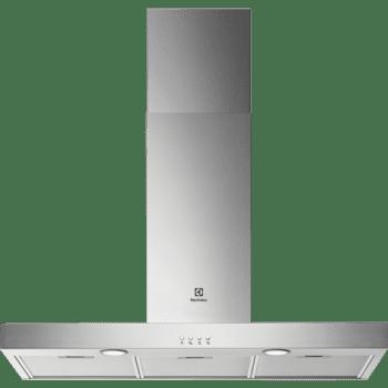 Campana Decorativa 90cm Electrolux LFT419X Inox | 3 niveles de potencia | Max 600 m³/h | Clase C