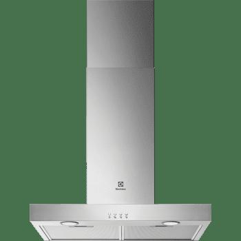 Campana de pared Electrolux LFT416X Inox de 60 cm con 3 Niveles de potencia Máx 600 m³/h Clase C