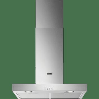 Campana de pared Zanussi ZHB62670XA Inox de 60 cm con 3 velocidades a 600 m³/h Clase C