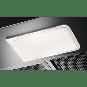 Campana Extraíble Electrolux LFP316S Integrable Inox de 60 cm con 3 niveles de potencia máx 360 m³/h Clase C - 4