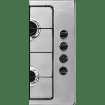 Placa de Gas Zanussi ZGH62417XA Inox de 60 cm con 4 Quemadores Termopar Parrillas Esmaltadas - 3