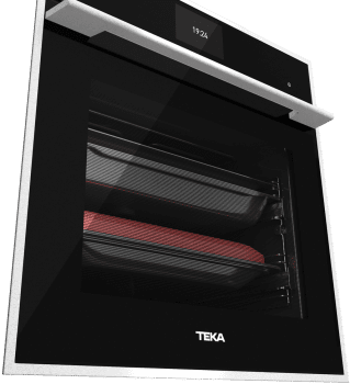 Horno Teka IOVEN P Pirolítico en Cristal Negro Clase A+ |  TFT Asesor Cocción 50 Recetas | Premium - 3
