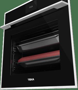 Horno Teka IOVEN P Pirolítico en Cristal Negro Clase A+ |  TFT Asesor Cocción 50 Recetas | Premium - 4