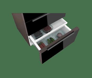 TEKA RFD 77820 SIDE BY SIDE FRENCH DOOR GOURMET 4 PUERTAS NEGRO - 3