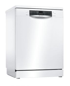 Lavavajillas Bosch SMS46MW19E Blanco de 60 cm con 14 servicios | Motor EcoSilence clase A++ | Serie 4