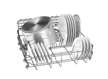 Lavavajillas Bosch SMS25FI07E Inoxidable antihuellas de 60 cm con 14 servicios | Motor EcoSilence clase A++ | Serie 2 - 5