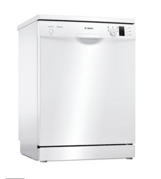 Lavavajillas Bosch SMS25FW07E Blanco de 60 cm con 14 servicios | Motor EcoSilence clase A++ | Serie 2