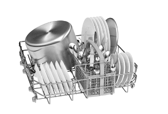 Lavavajillas Bosch SMS25DW05E Blanco XL de 60cm para 13 Servicios | Motor Ecosilence A++ | Serie 2| - 4