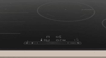Placa de Inducción Balay 3EB989LU | 80 cm | 3 Zonas - Max. 28 cm | Flex inducción | 17 niveles de cocción | Biselada - 3