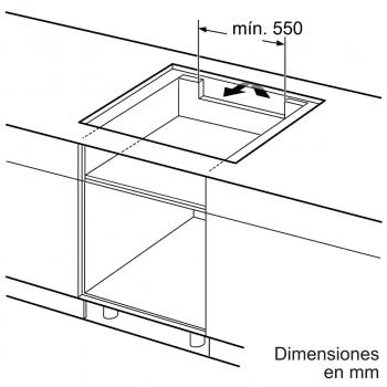 Placa de Inducción Balay 3EB989LU | 80 cm | 3 Zonas - Max. 28 cm | Flex inducción | 17 niveles de cocción | Biselada - 5