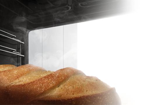 Pan dentro de horno bosch