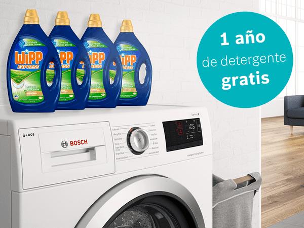 Promoción Lavadoras I-Dos 1 año detergente Wipp Gratis
