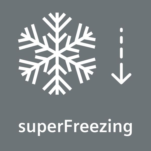 Función de congelación Super