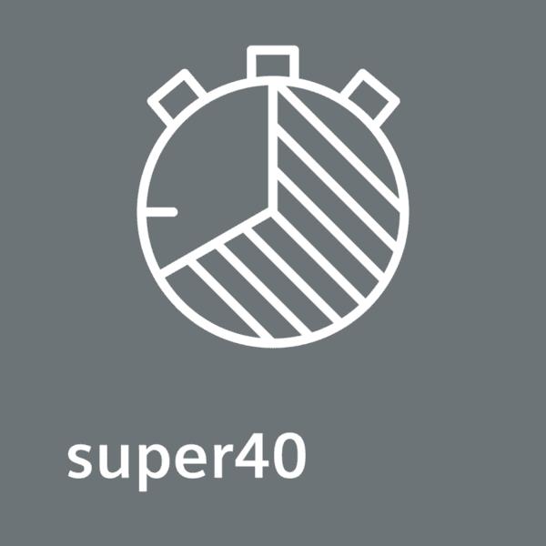 Programa Express 40 minutos Super 40