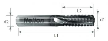 Solid Carbide Thread Mill 2XD