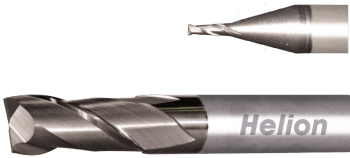 Solid Carbide Square End Mill Z2 · 35°