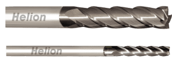 Solid Carbide Square End Mill Z4 Long 35°