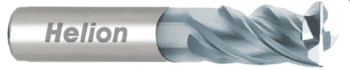 Solid Carbide End Mill Z4 · 35°/38°