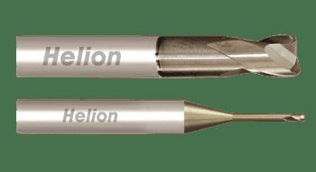 Fresa metal duro tórica ALU Z2 · 45°