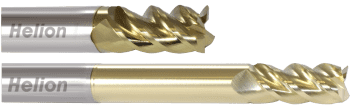 Solid Carbide End Mill Z4 · 43°/47°