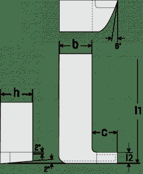 Internal Grooving / Parting Tool DIN 263